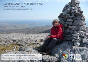 Alix Quoniam : on lights of Hebrides isles