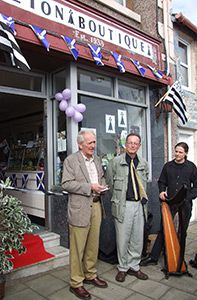 inauguration de la Breton Boutique 2008