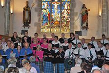 Mouezh Paotred Breizh and Scottish Gaelic Choir Concert